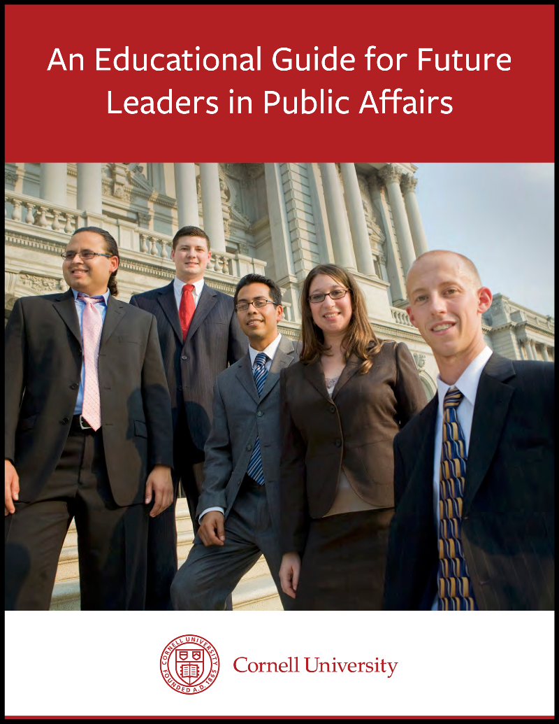An Educational Guide for Future Leaders in Public Affairs Guide Cover
